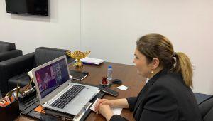 AK Parti il teşkilatları video konferanslı toplantı