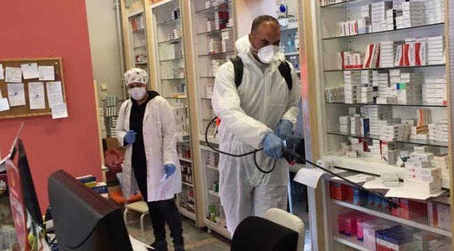 Edirne Belediyesi dezenfekte çalışmalarını sürdürüyor