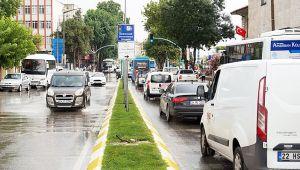 Edirne'de trafiğe kayıtlı araç sayısı 161 bin 192'ye ulaştı