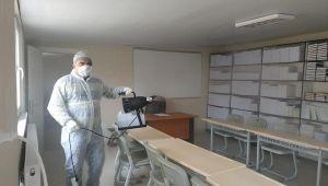 İpsala'da koronavirüs tedbirleri