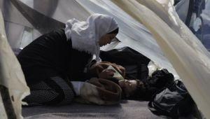 Sığınmacılar liderler zirvesini bekliyor