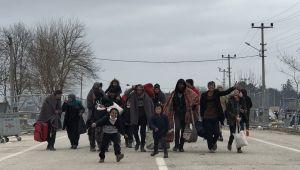 Sığınmacılar sınırdan ayrıldı