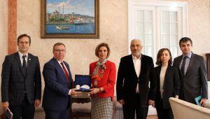 TÜ'den Bükreş Büyükelçisi'ne ziyaret