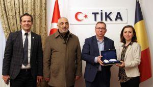 TÜ heyeti, Romanya'da TİKA ile görüştü