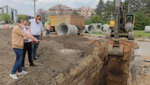 Edirne'deki altyapı çalışmaları devam ediyor