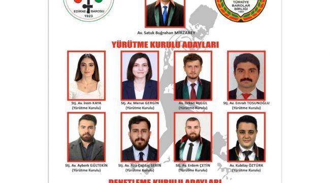Genç Hukukçular listesi adaylık başvurusunu yaptı