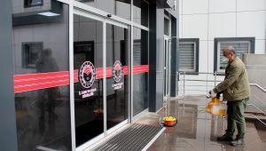 Kamu kurumları düzenli olarak dezenfekte ediliyor
