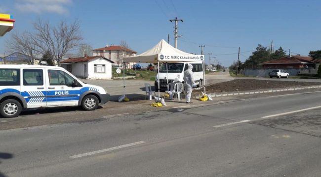 Meriç'te alternatif yollar ulaşıma kapatıldı