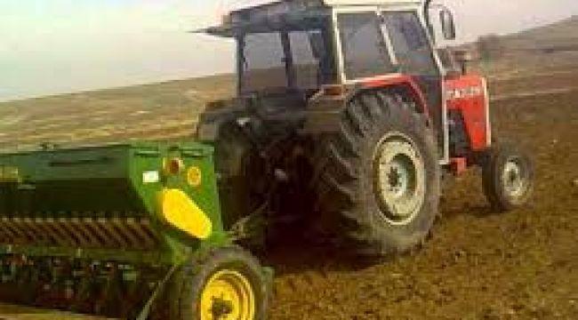 Tarıma elverişli arazilerin tamamı ekildi