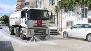 24 mahallede 4 gün boyunca dezenfekte edilecek