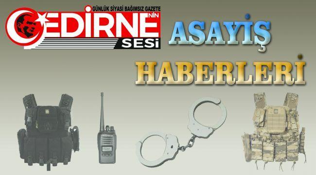 Edirne'de uyuşturucu operasyonunda 4 şüpheli gözaltına alındı