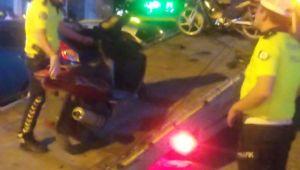 Motosikletlere sıkı denetim