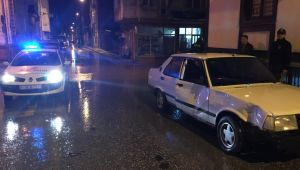 Otomobille motosikletin çarpışması sonucu 1 kişi yaralandı