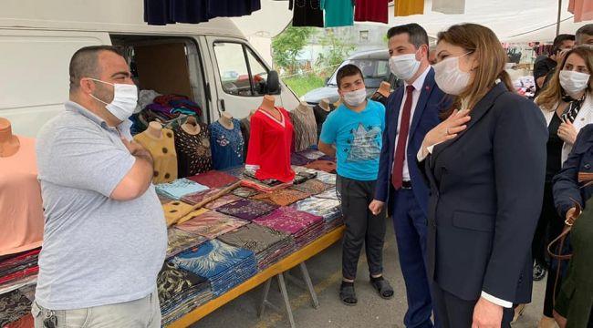 AK Parti İl Başkanı İba İpsala'da