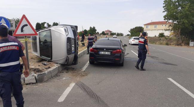Kavacık'ta aynı günde 2farklı kazada 1 ölü 6 yaralı