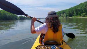 Meriç Nehri'nde kano etkinliği