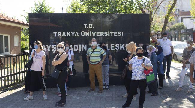 Trakya'da YKS heyecanı
