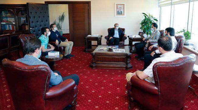 UDEF'ten, Tabakoğlu'na anlamlı ziyaret