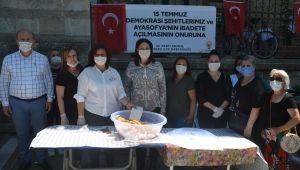 AK Parti'den lokma ikramı