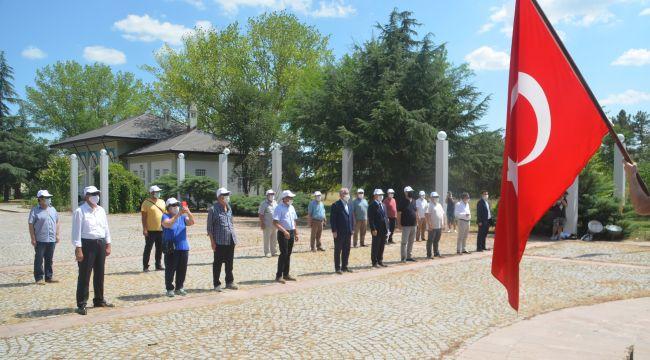 BRTK'dan Lozan anıtında tören