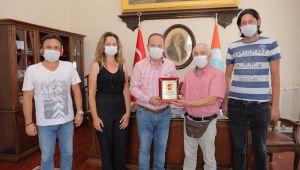 Gazetecilerden, Gürkan'a teşekkür