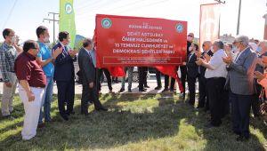 Gürkan'dan gençlere yeşil alan