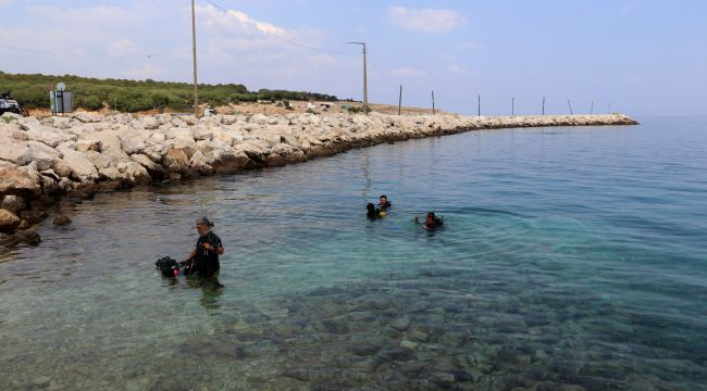 İbrice Limanı'nda tedbirli dalış