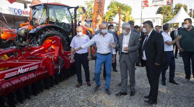Kırkpınar Tarım Hayvancılık Gıda ve Sanayi Fuarı açıldı