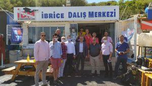 İbrice 'de dalış eğitim merkezleri toplantısı