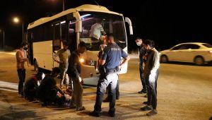 Edirne'de 7 düzensiz göçmen yakalandı