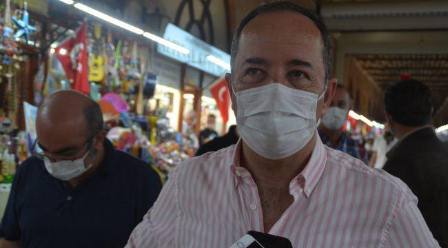 Esnaf da vatandaş da maskeye duyarlı