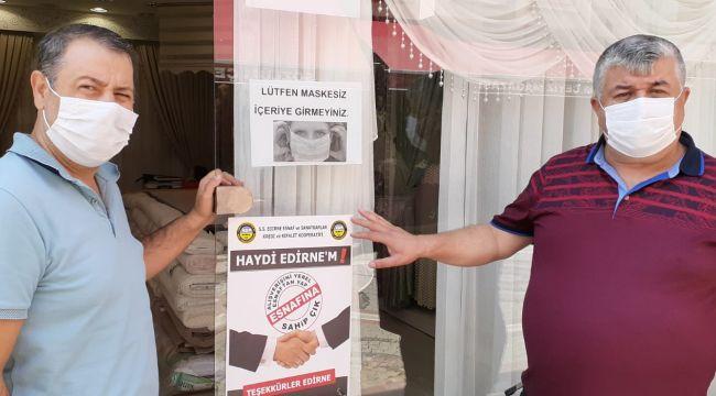 'Haydi Edirne'm yerel esnafına sahip çık'