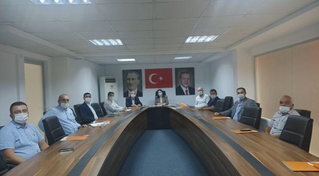 İba, ilçe başkanlarıyla toplantı düzenledi