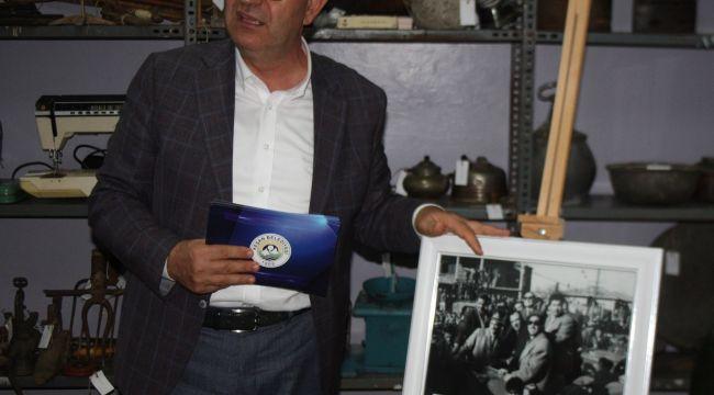 Menderes'in fotoğrafı Keşan müzesinde
