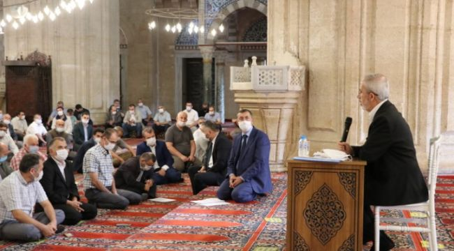 Selimiye'de Kovid-19 bilgilendirme toplantısı