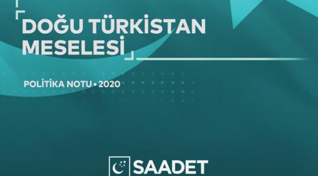 SP'denDoğu Türkistan raporu