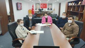 AK Parti ilçe başkanlarıyla istişare toplantısı