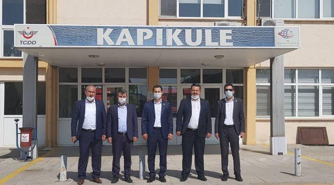 Çalışkan, Edirne'de üyelerini dinledi