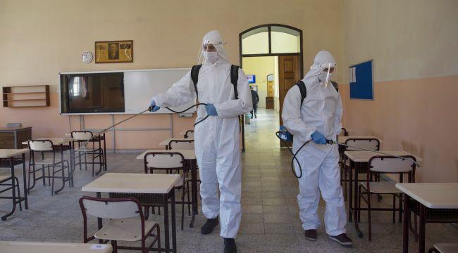 Okullarda dezenfektan arası