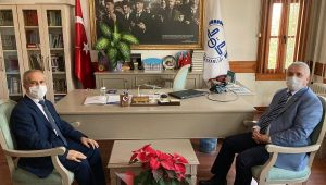 Tekirdağ Valisi Yıldırım'dan Müftü Bozkurt'a ziyaret