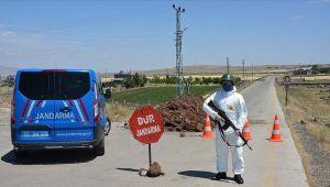Test pozitif çıkan muhtarın köyünde bazı alanlar kapatıldı