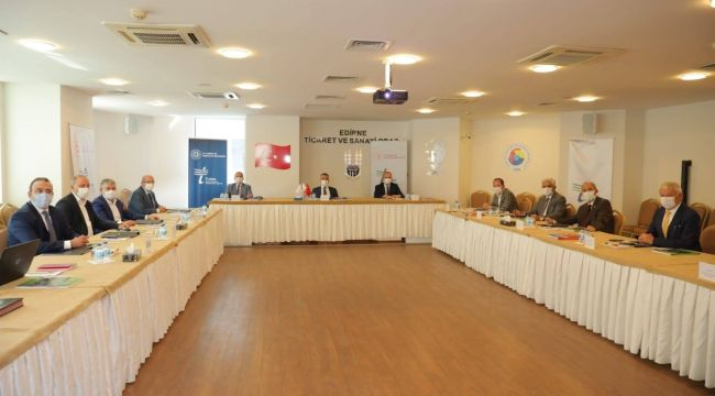 TRAKYAKA toplantısı Edirne'de yapıldı