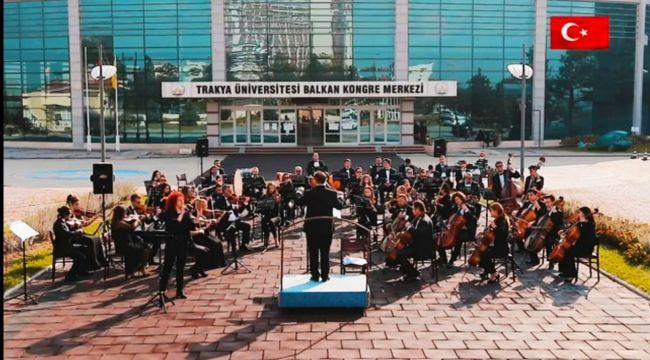 TÜ'de Cumhuriyet coşkusu notalara yansıdı