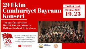 TÜ'den 29 Ekim Cumhuriyet Bayramı konseri