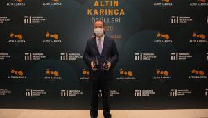 Edirne belediyesine 'Altın Karınca' ödülü
