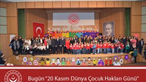 Özbaş'ın '20 Kasım Dünya Çocuk Hakları Günü' Mesajı
