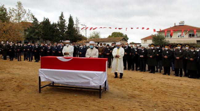 Şehit Yarbay Rafet Sayın Edirne'de son yolculuğuna uğurlandı