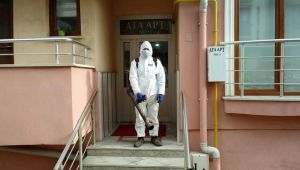 Dezenfekte edilen yerler takip sistemiyle kontrol ediliyor