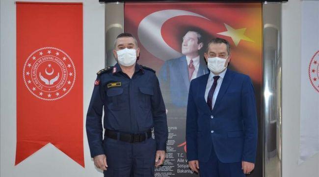 Albay Seri'den, AÇSH Müdürü Özbaş'a ziyaret