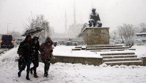 Çarşamba günü yoğun kar yağışı bekleniyor